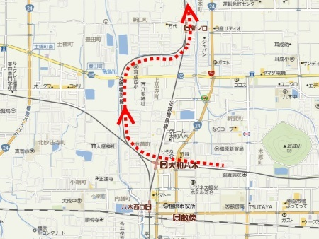 大坂線から橿原線へc.jpg