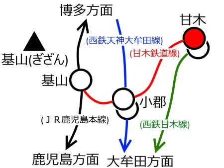 甘木駅周辺路線図c.jpg