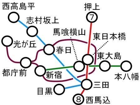 都営地下鉄路線図西馬込c.jpg